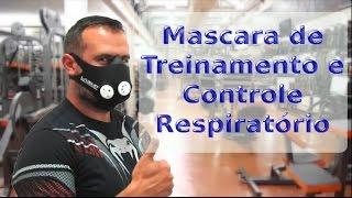 Máscara de Treinamento Respiratório com Controle de Fluxo de Ar Liveup