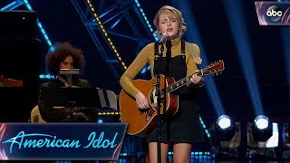 Maddie Poppe Sings Original Song for Her Hollywood Week Solo Song - American Idol 2018 on ABC - Video Youtube