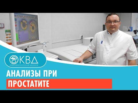 Планирование при лечении простатита