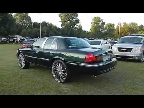 Mercury Grand Marquis on Chrome Starr Wheels #Whip