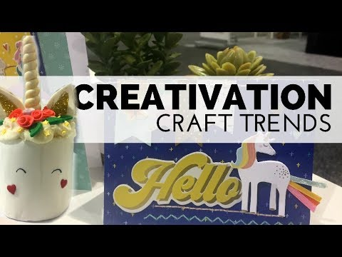 Creativation 2018: Craft Trend Predictions