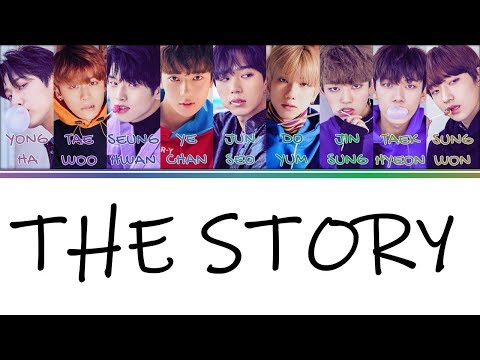 [Color Coded Lyrics] 1THE9(원더나인) - 우리들의 이야기(The Story) [Han/Rom/Eng]