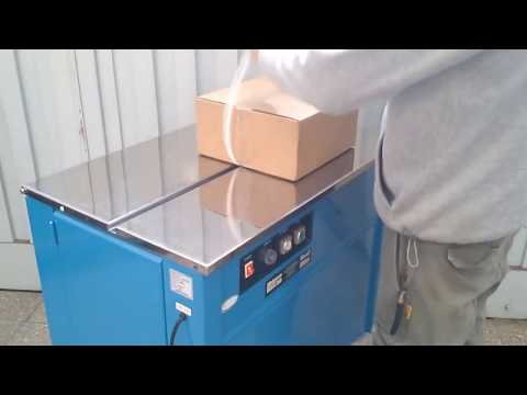 Transpak Semi Automatic Box Strapping Machine