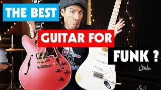 The Best Guitar For Funk ?   Essential Gear For Stanky Tone