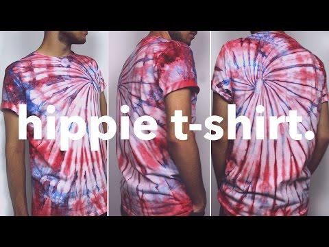 DIY camiseta hippie, fácil y barato