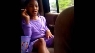 Miss Amani singing Porcelain Doll (Chrisette Michele)