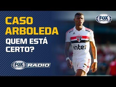 Caso Arboleda: Quem está certo? Veja o debate no FOX Sports Rádio
