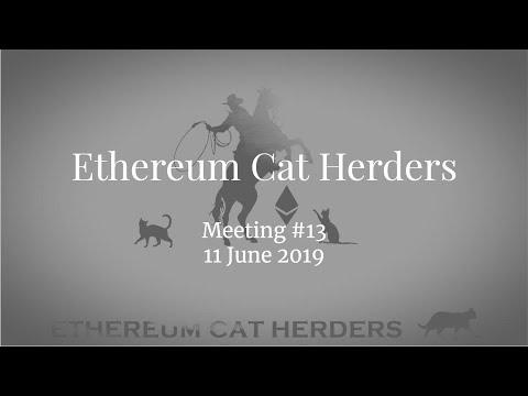 Ethereum Cat Herders Meeting #13 [2019/06/11]