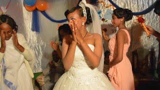 Amazing Ethiopian Wedding ግሩም ኢትዮጵያዊ ሰርግ Edilu And Hirut  Part 1