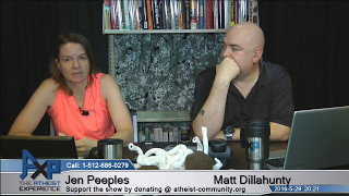 Atheist Experience 20.22 with Matt Dillahunty and Jen Peeples