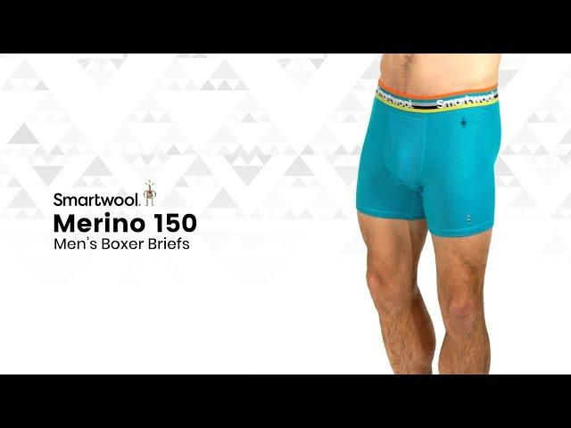 Видео Трусы Smartwool Merino 150 Boxer Brief Black