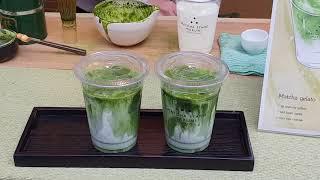 Street Food Japan : Original Matcha Latte Green Tea