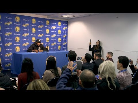 FULL INTERVIEW: Kevin Durant blasts media's treatment of him, tells reporters to 'grow up'