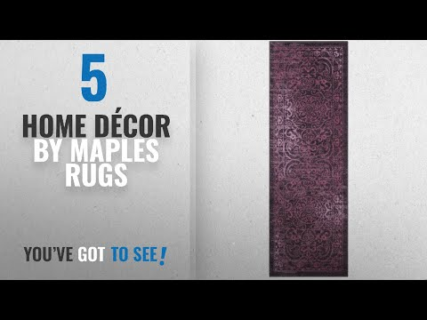 Top 10 Home Décor By Maples Rugs [ Winter 2018 ]: Runner Rugs, Maples Rugs [Made in USA][Pelham] 2'