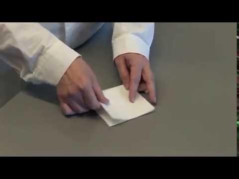 Como hacer un filtro de pliegues- FILTRE de papier-make a folds filter.flv