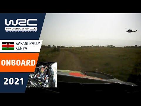 ヒュンダイのヌービルのオンボード映像 WRC 2021 WRC第6戦ラリー・ケニア SS8