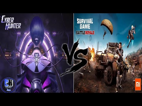 Xiaomi New Battle Royal Game VS Cyber Hunter Who is best?