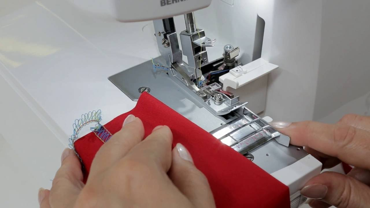 BERNINA L 460: instructievideo 7/8