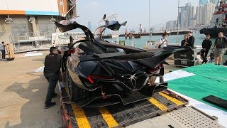The $2.7Million Batmobile that is Pagani's Worst Nightmare - The Apollo IE