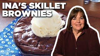Ina Garten Makes Skillet Brownies   Food Network