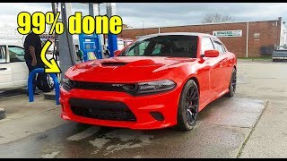 Rebuilding my wrecked charger hellcat part 12