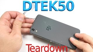 BlackBerry DTEK50 Teardown - Cute Charging Port - Screen replacement