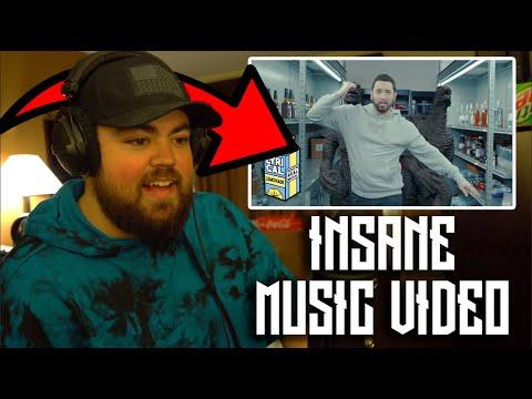 RAPPER REACTS to Eminem - Godzilla ft. Juice WRLD (Dir. by _ColeBennett_)