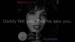"""Donna Summer - Brooklyn LYRICS SHM """"I'm a Rainbow"""" 1981"""