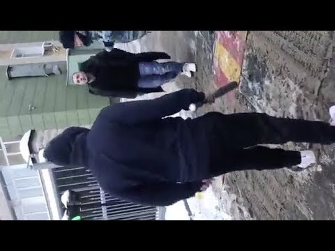 Полное видео нападения Obe 1 Kanobe на Птаху