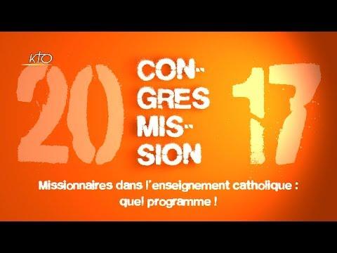Missionnaire dans l'enseignement catholique : quel programme !
