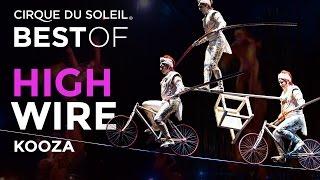 Смотреть онлайн Цирк дю Солей, акробатические трюки на канате