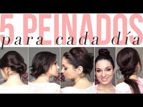 Peinados Faciles Para Lucir Linda Y Elegante Belleza