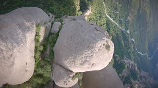 FPV dives in Montserrat