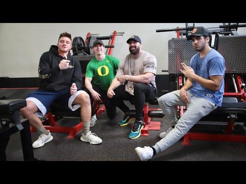 NELK boys and Steve will do it killing legs | full send fitness.
