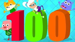 Number Song 1 to 100   Learn To Count   Big Number Song   Baby Song