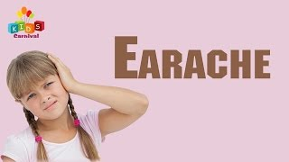 Best Cure For Kids Earache with Natural Home Remedies | Kids Carnival