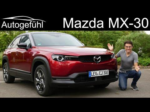 Mazda MX-30 FULL REVIEW all-new Mazda EV - Autogefühl