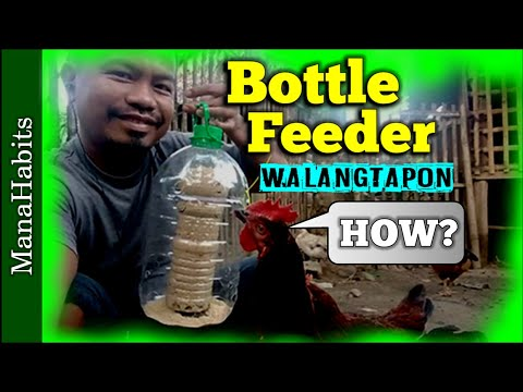 , title : 'DIY Chicken Bottle Feeder   How To Make an Automatic Chicken Feeder Recyclable Plastic Bottle