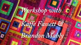 Kaffe Fassett: Zig Zag Quilt With Kaffe & Brandon Mably