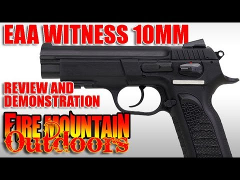 EAA Witness 10mm Review:  Is this CZ75 clone the value it seems?