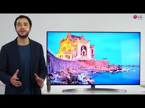 Prezentare video LG SUPER UHD SK8500
