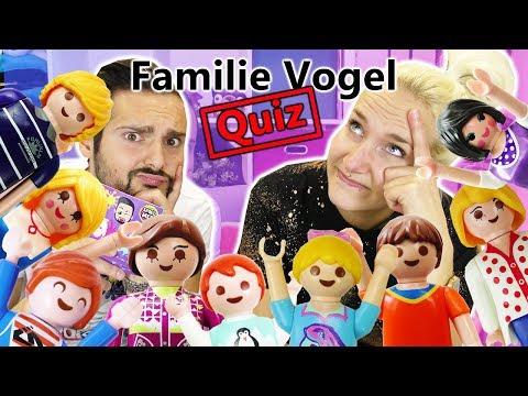 Familie Vogel Quiz: WER IST ES? FIGUREN BESCHREIBEN + ERRATEN! Kaan vs Nina im Playmobil Duell