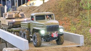 RC MACHINERY IN ACTION! WORLD OF RC! AMAZING RC URAL 4320 ! COOL RC TANK! MOROOKA T 800