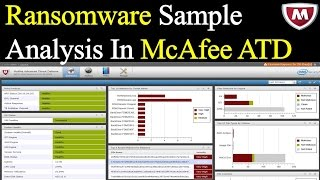 Ransomware Virus  Analysis in McAfee ATD  2017