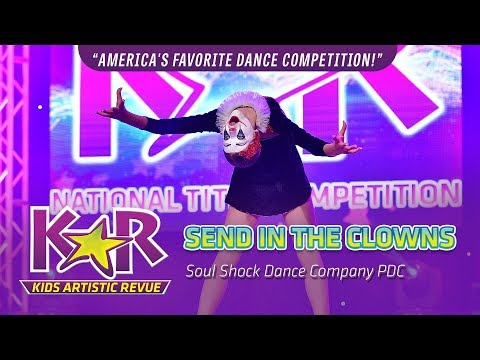 """""""Send In The Clowns"""" from Soul Shock Dance Company PDC"""
