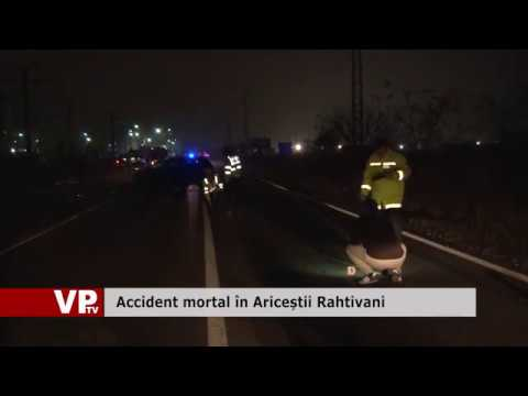 Accident mortal în Ariceștii Rahtivani