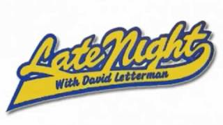 Late Night with David Letterman Theme