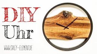 Eine Uhr selber bauen / Wanduhr / selber machen / Altholz DIY