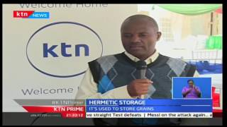 KTN Prime: USAID unveils a new storage bag to help farmers on crop loss, 16/11/16