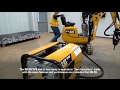 Setting Up the Cat 300.9D Versatile Power System Mini Excavator with the HPU300